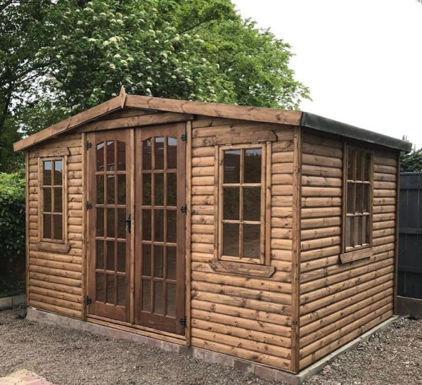 12×8 dodds fencing and sheds summerhouse