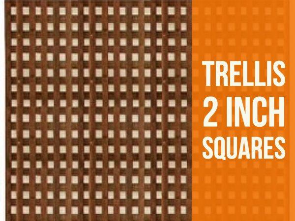 2 inch trellis