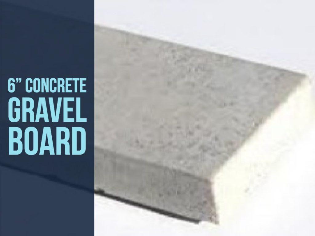 6 inch concrete fencing boards 1