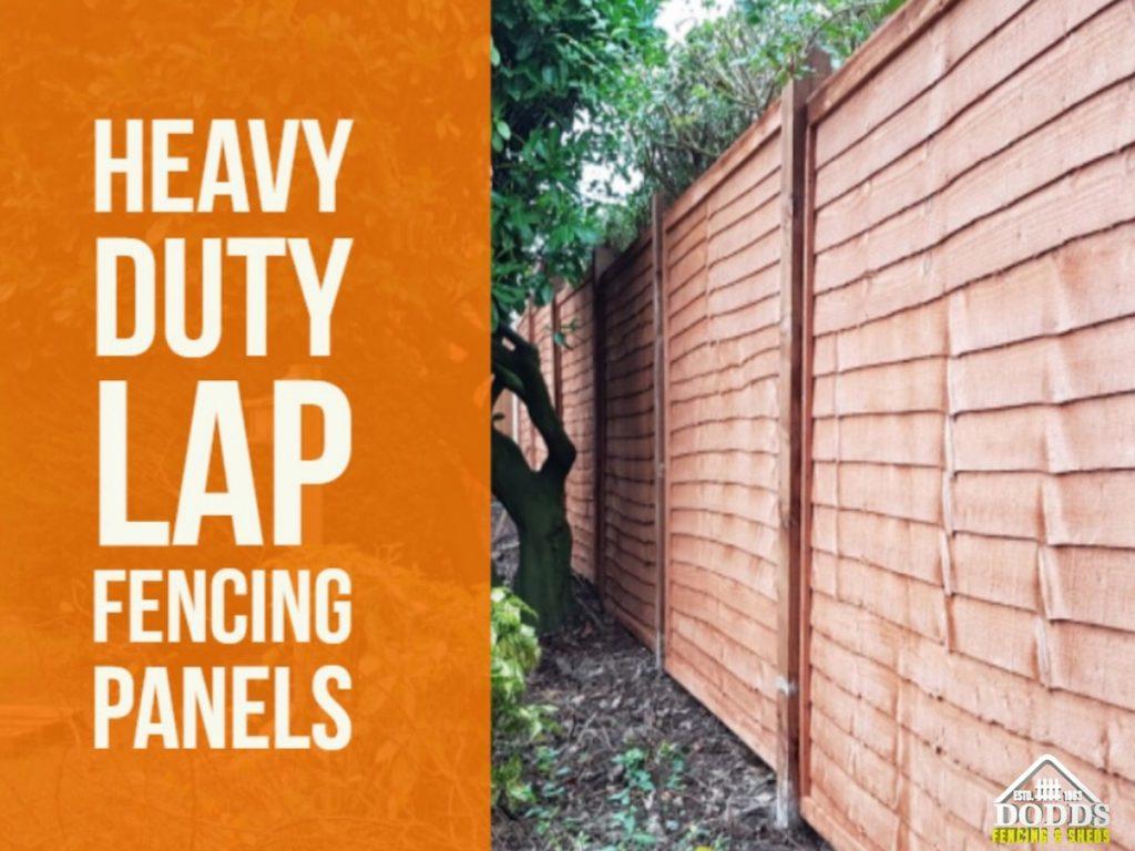 Heavy Duty Lap Fencing Panels Stockton on Tees