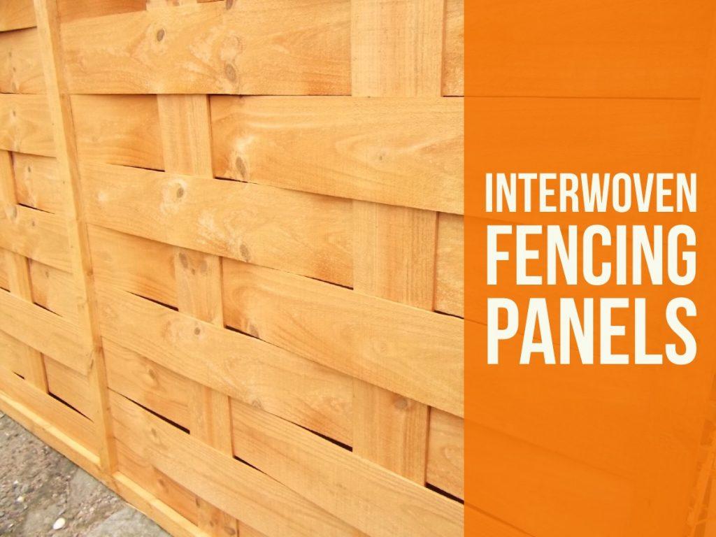 Interwoven Fencing Panels Teesside