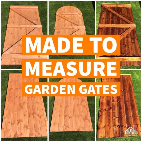 MADE TO MEASURE GARDEN GATES DODDS FENCING SHEDS