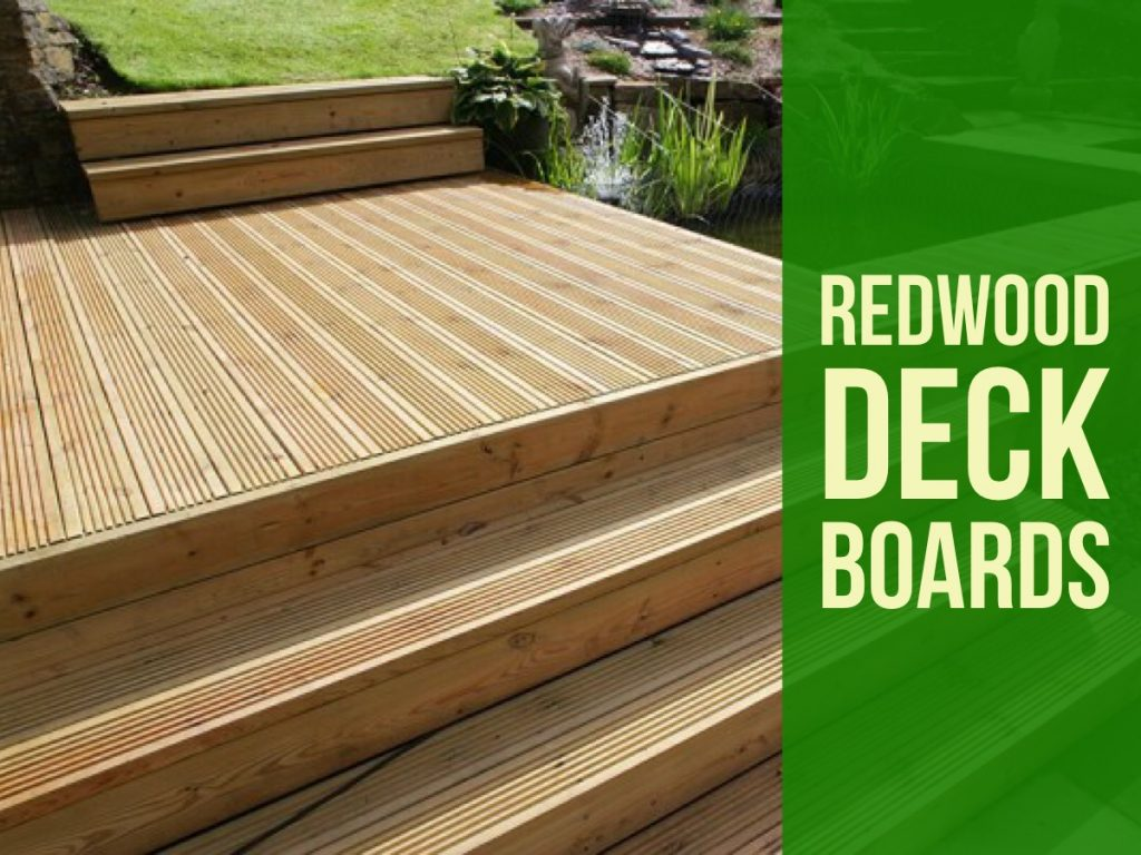 Redwood Deck Boards Stockton on Tees