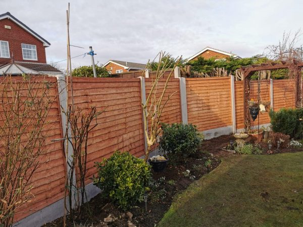 heavy duty lap panels and concrete posts dodds fencing and sheds