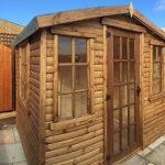 8×6 Log lap Summerhouse 1