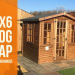 8×6 Log lap Summerhouse
