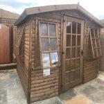 8×6 Log lap Summerhouse 3