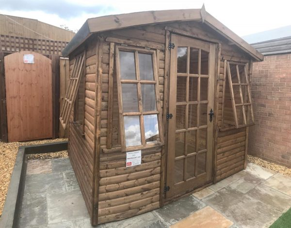 8×6 Log lap Summerhouse 3