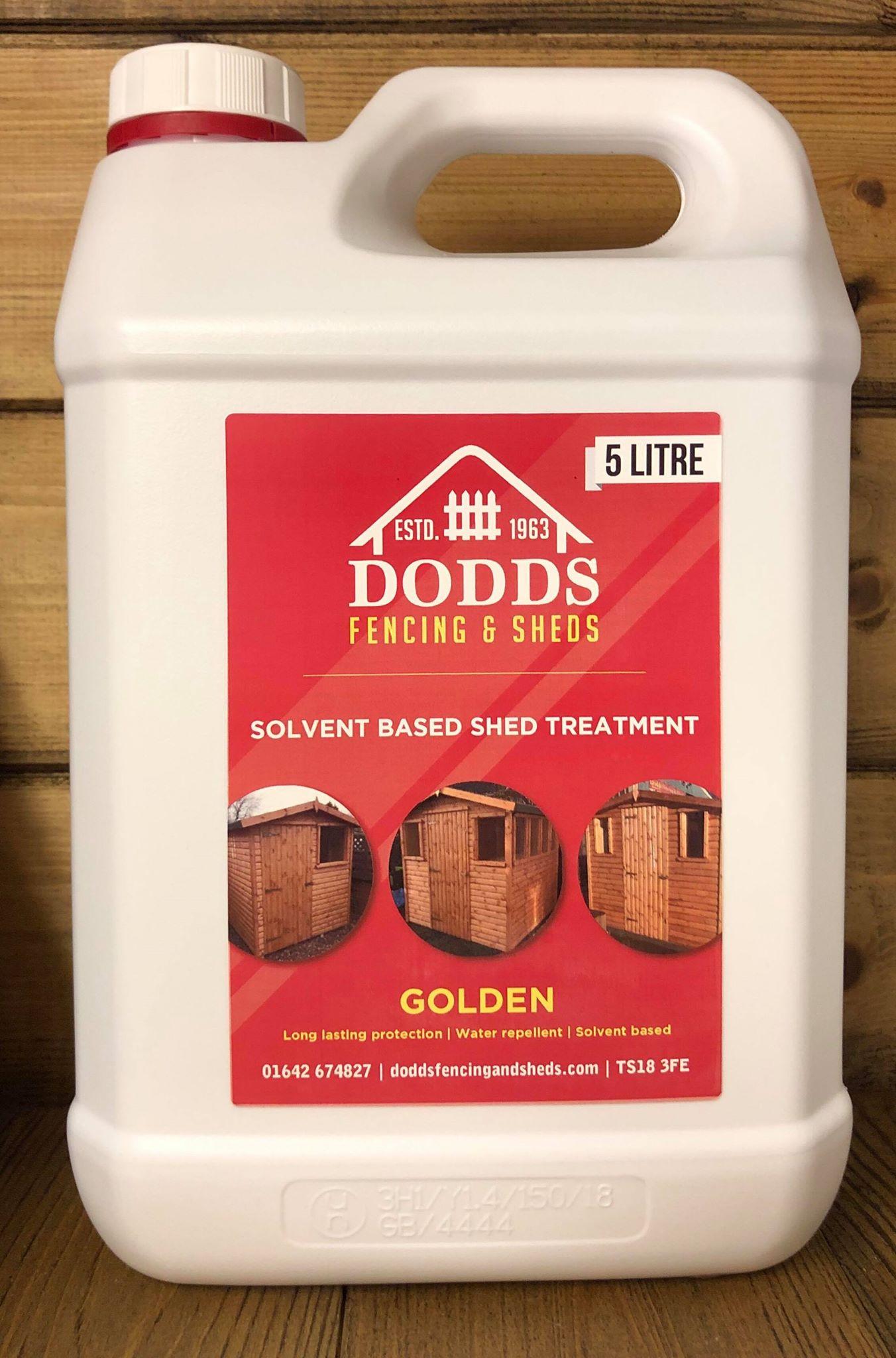 golden dodds shed treatment