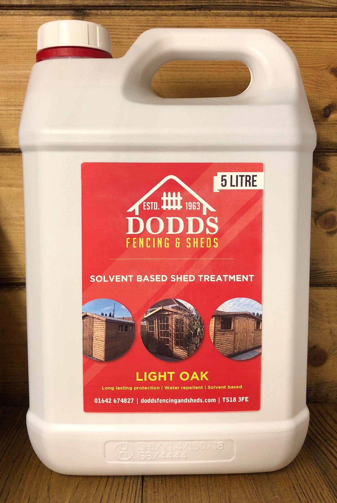 light oak dodds shed treatment