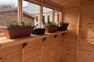 potting shed bench