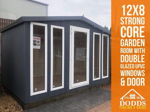 12×8 strong core garden room