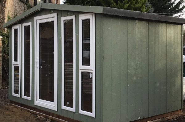 12×8 garden room opening windows dodds