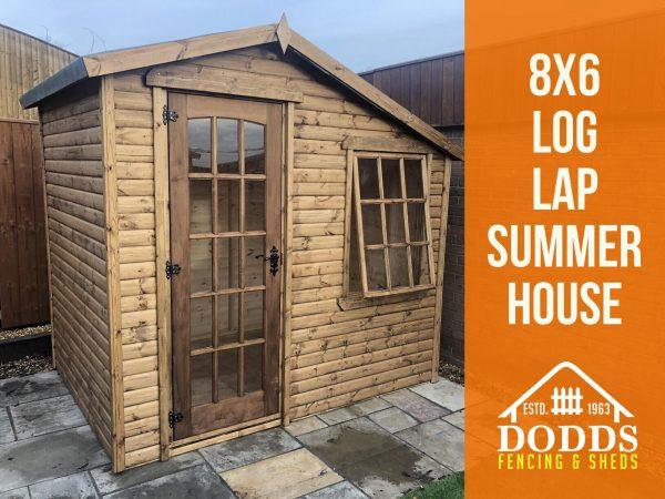 8×6 dodds summerhouse