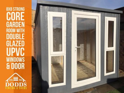 8x8 strong core dodds garden room