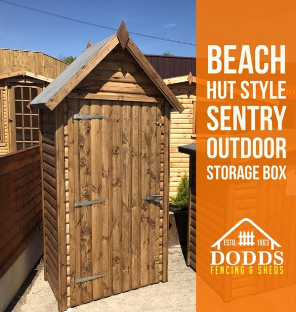 BEACH HUT DODDS FENCING