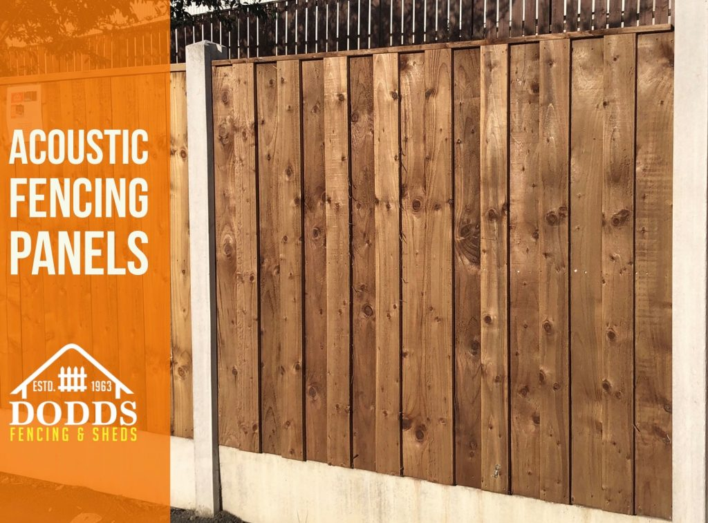 dodds fencing acoustic panel