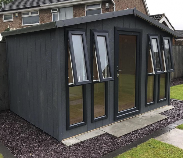 dodds fencing sheds strong core garden room 12×8