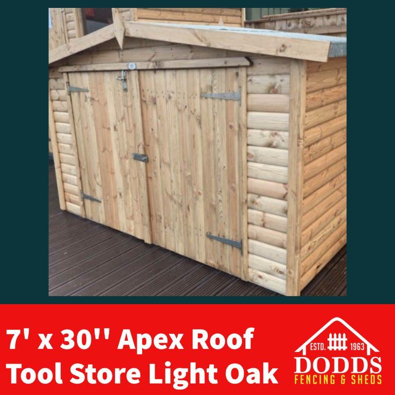 Dodds tool store light oak