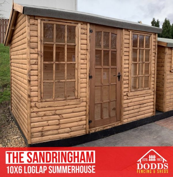 10×6 the sandringham dodds fencing and sheds