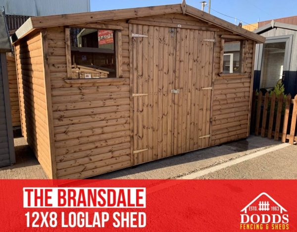 12×8 log lap bransdale