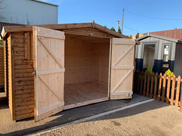 12×8 log lap bransdale double doors