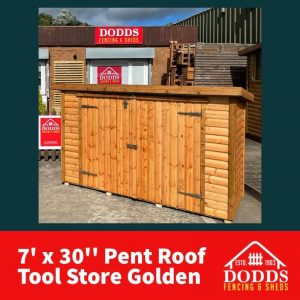 Dodds pent roof tool store