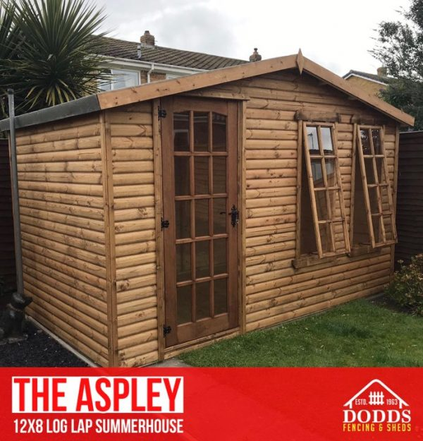 THE ASPLEY SUMMERHOUSE DODDS FENCING AND SHEDS