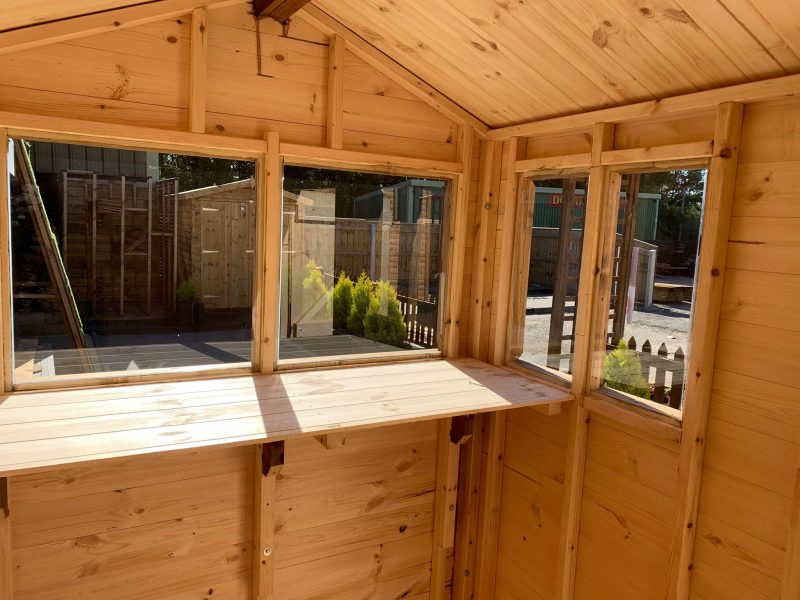 the hobby internal dodds fencing sheds