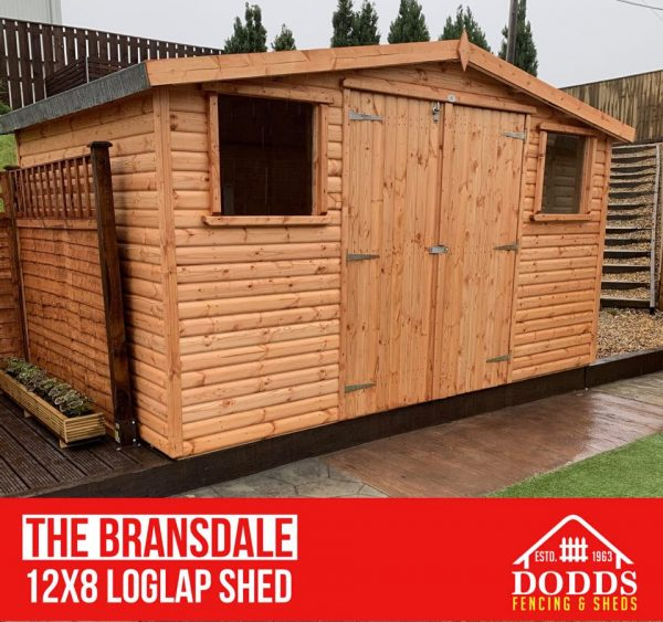 the bransdale golden log lap shed