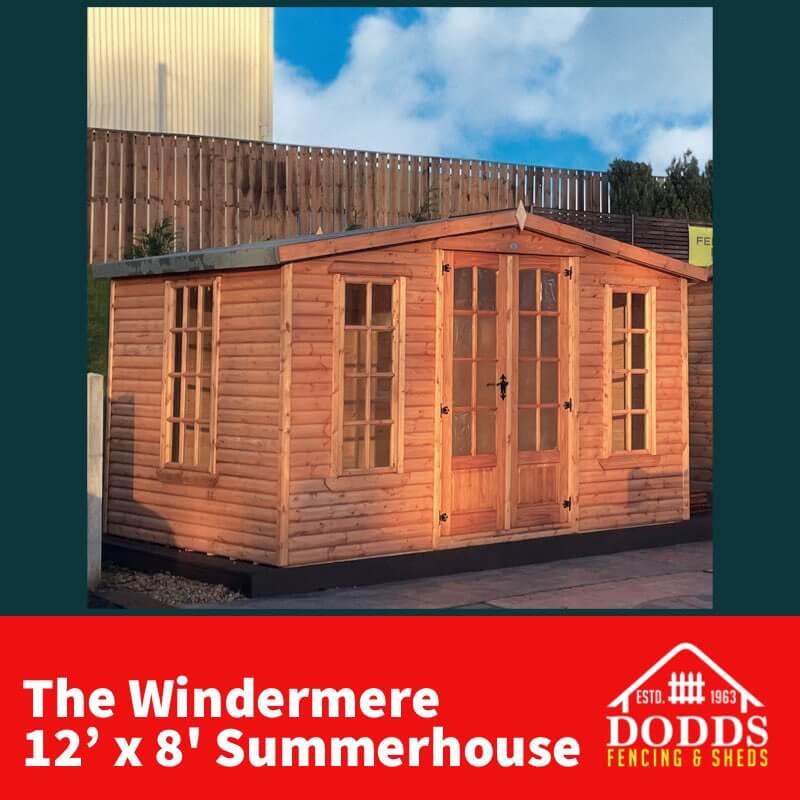 12×8 Summerhouse Dodds Fencing & Sheds (1)