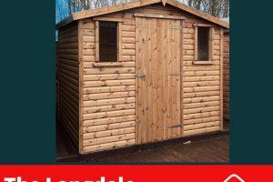 The Langdale 8x6 Log Lap Shed Dodds