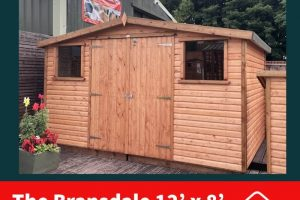 12X8 BRANSDALE DODDS SHED (1)