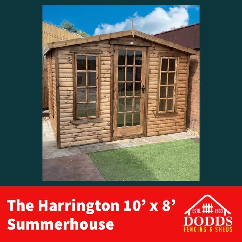 10X8 HARRINGTON SUMMERHOUSE DODDS (1)