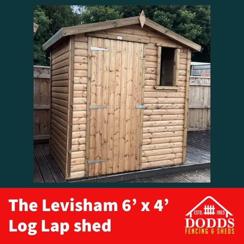 6X4 LEVISHAM DODDS SHED