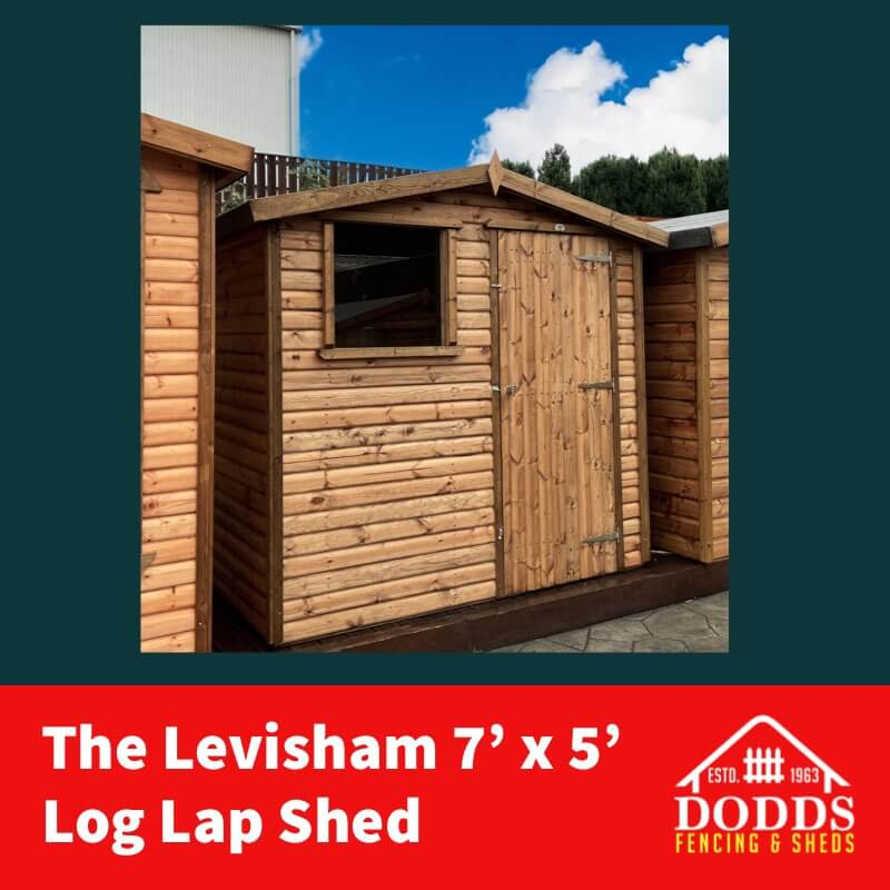 7×5 Levisham Dodds Shed (1)