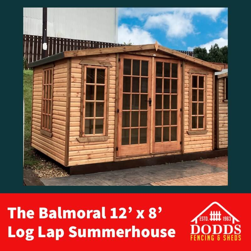 Balmoral 12×8 Dodds Summerhouse (1)