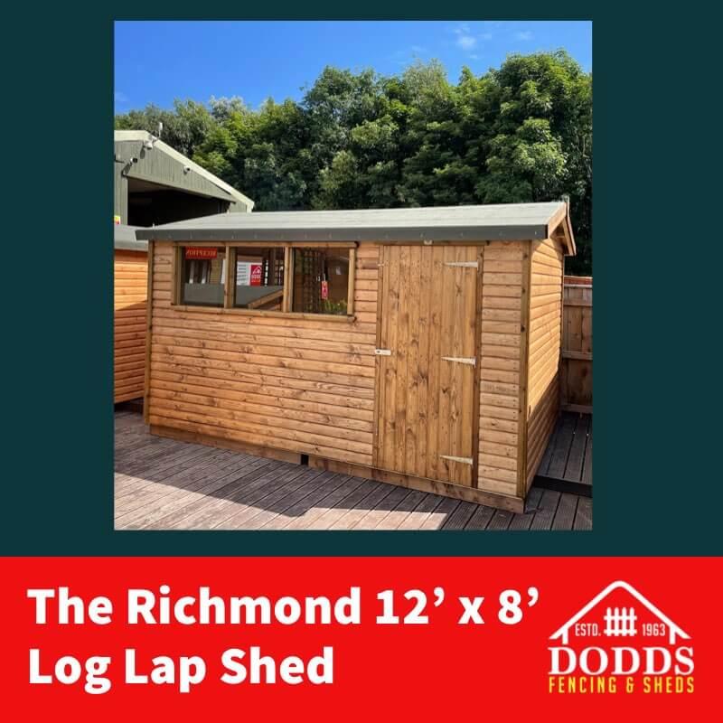 RICHMOND 12X8 DODDS SHED (1)