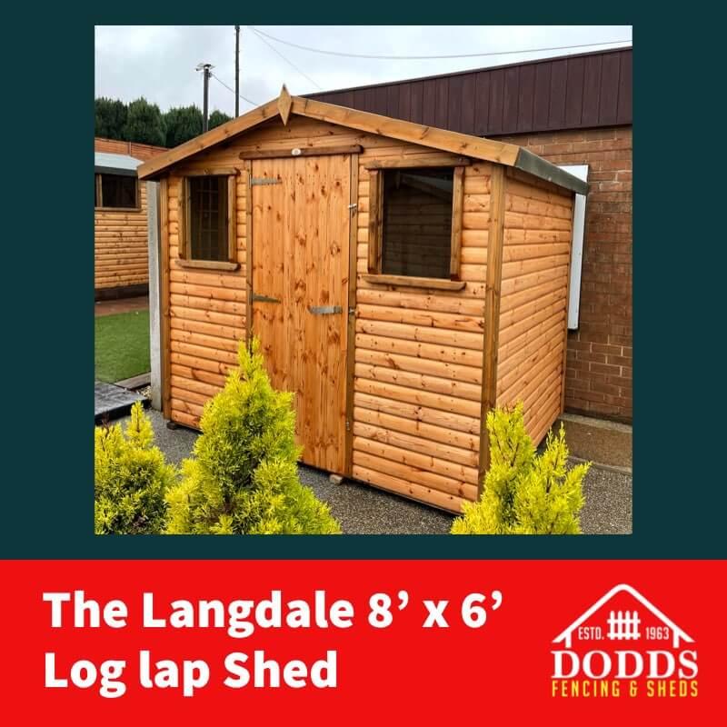 DODDS 8X6 LANGDALE SHED (1)